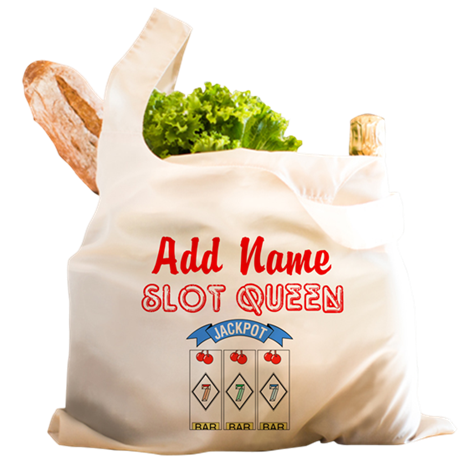 SLOT QUEEN Reusable Shopping Bag