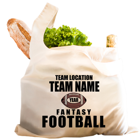 Your Team Personalized Fantasy Football Reusable S