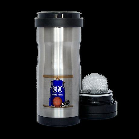Personalized Basketball Jerse Tea Tumbler