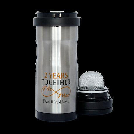 Gift For 2nd Wedding Anniversary Tea Tumbler