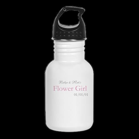 Custom Flower Girl Kid's Water Bottle