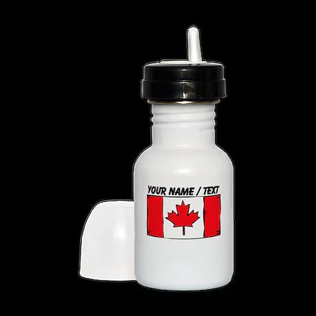 Custom Canada Flag Sippy Cup