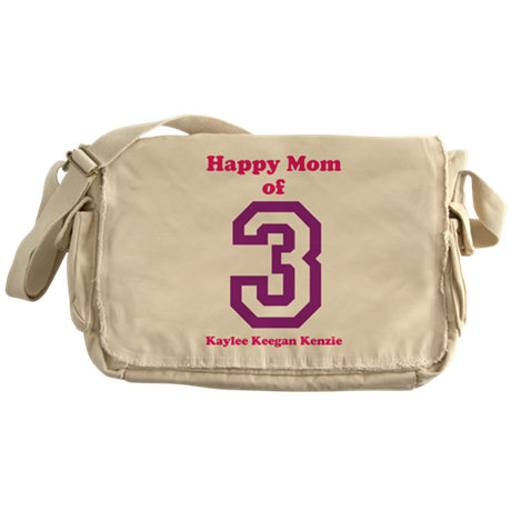 Personalized Mother Messenger Bag
