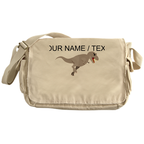 Custom Tyrannosaurus Rex Messenger Bag