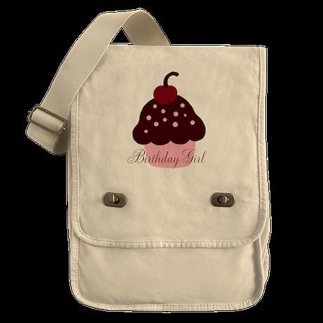 Birthday Girl Cupcake Field Bag