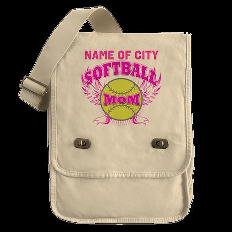 Personalize Softball Mom Field Bag
