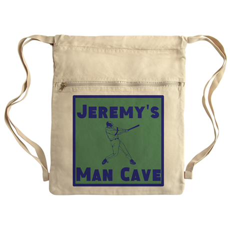 Personalized Man Cave Cinch Sack