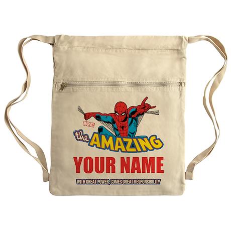 Custom Spider-Man Cinch Sack