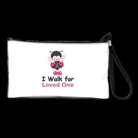 Walk For Ladybug Clutch Bag