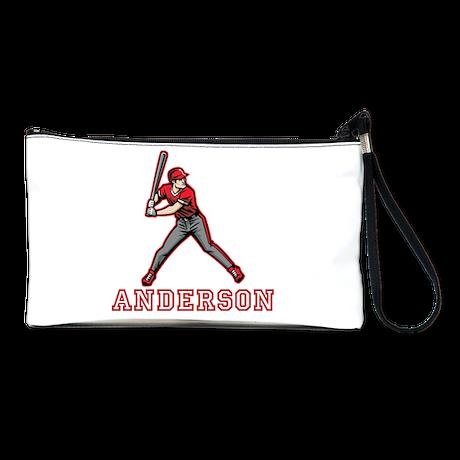 Personalized Baseball Clutch Bag