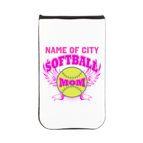 Personalize Softball Mom Kindle Sleeve