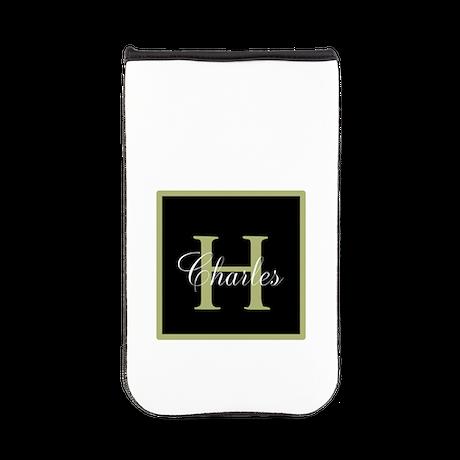 Monogram and Name Kindle Sleeve