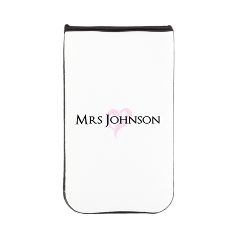Own name Mr and Mrs set - Heart Mrs Kindle Sleeve