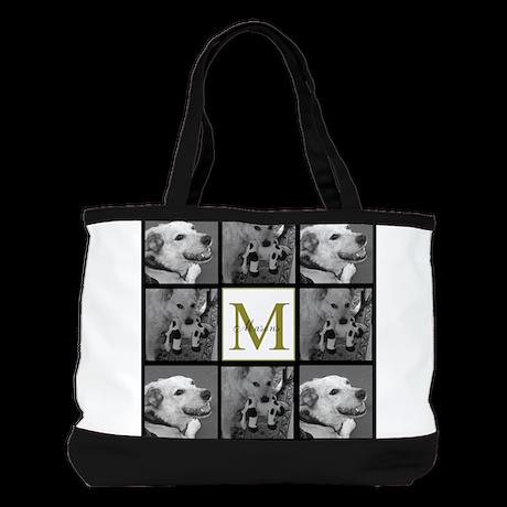 Beautiful Photo Block and Monogram Shoulder Bag