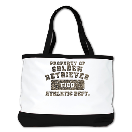 Personalized Golden Retriever Shoulder Bag