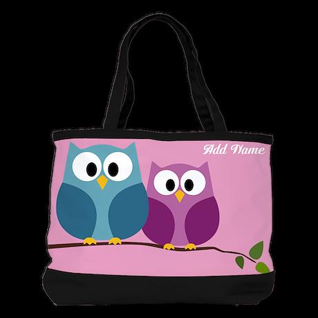 Cute Cartoon Owls Shoulder Bag