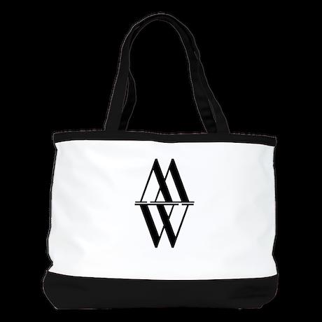 Initial Reflection Monogram Shoulder Bag