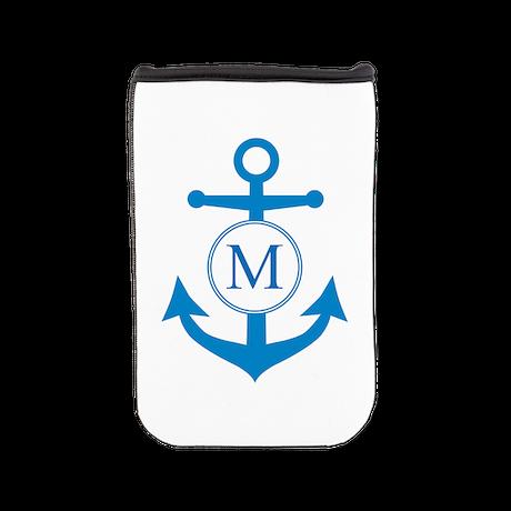 Anchor, Nautical Monogram Nook Cover