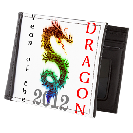 Year of the Dragon 2012 Mens Wallet