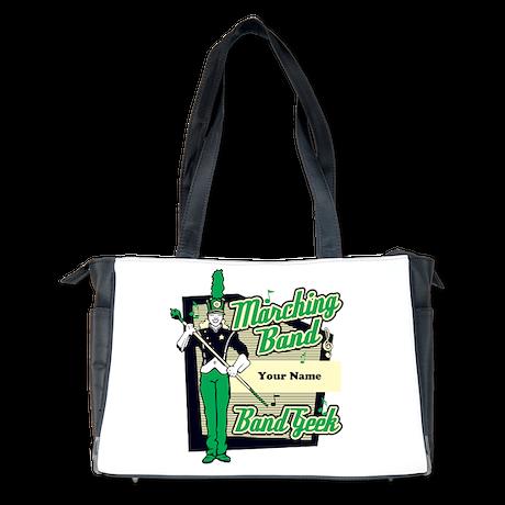 Marching Band Geek (Green) Diaper Bag