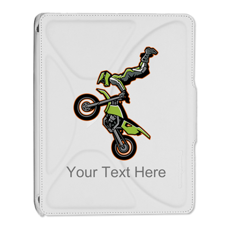 Motocross Jump iPad 2 Cover