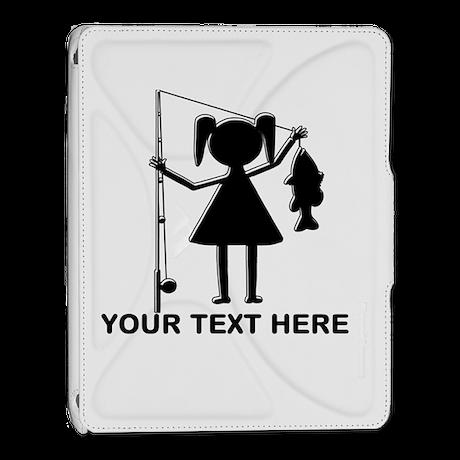 CUSTOMIZABLE REEL GIRL iPad 2 Cover