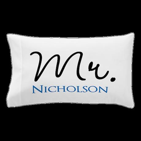 Custom Mr. Pillow Case