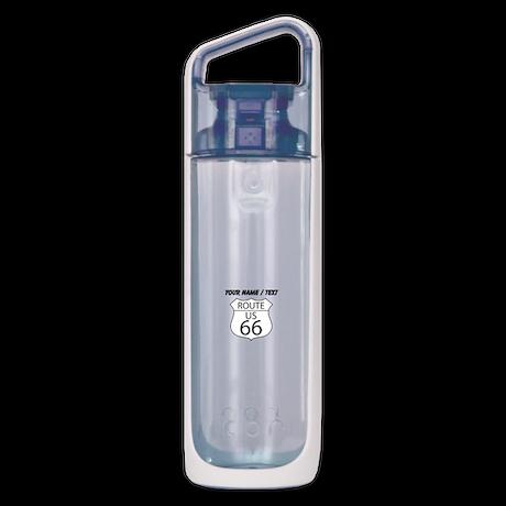 Custom U.S. Route 66 Sign KOR Water Bottle