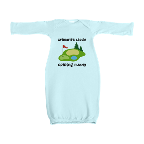 Personalized Golfing Buddy Baby Gown