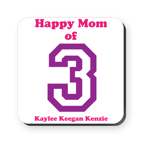 Personalized Mother Square Coaster