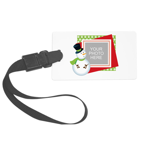 Personalized Christmas Large Luggage Tag