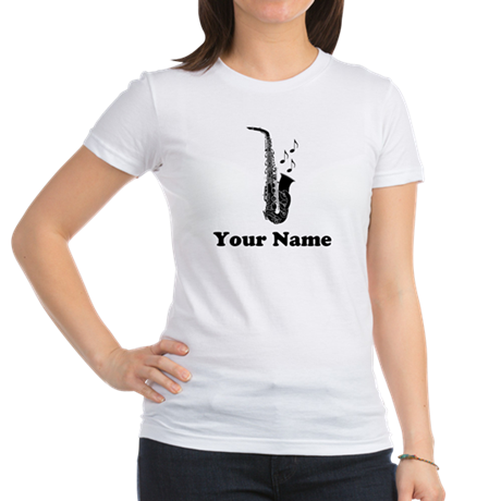 Personalized Saxophone Jr. Jersey T-Shirt