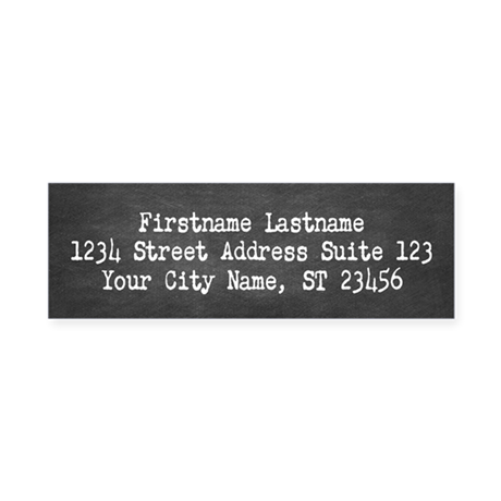 Cool chalkboard return address labels by marshenterprises for Cool return address labels