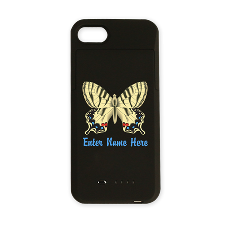 Personalized Butterfly iPhone Charger Case