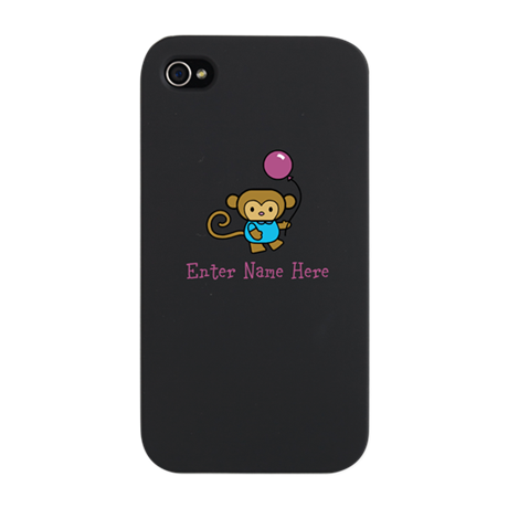 Personalized Monkey iPhone Snap Case