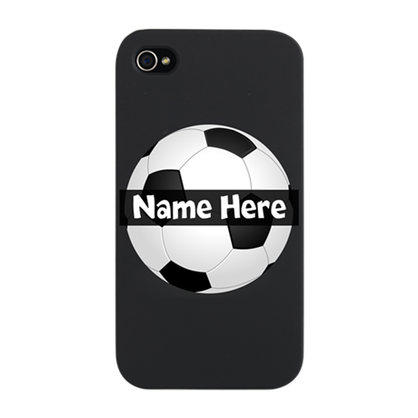 Personalized Soccer Ball iPhone Snap Case