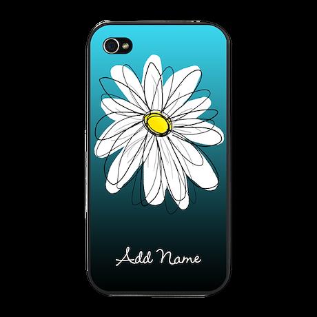 modern daisy - custom iPhone Snap Case