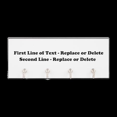 2lineTextPersonalization Key Hanger