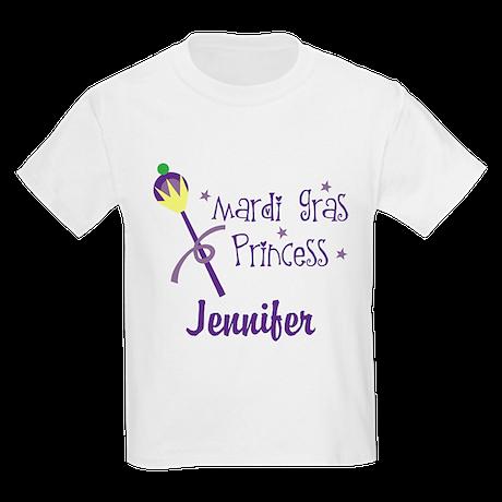 Mardi Gras Princess Personalized T Shirt By Mainstreetshirt