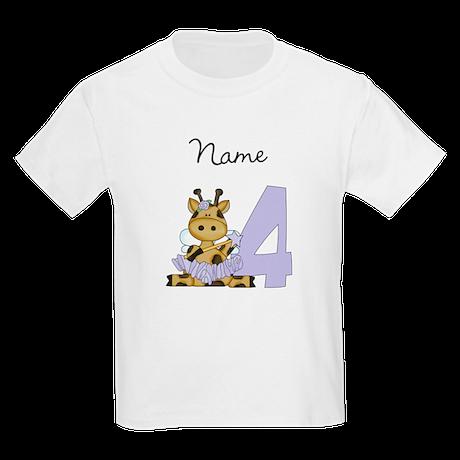 Ballerina Giraffe 4 T-Shirt