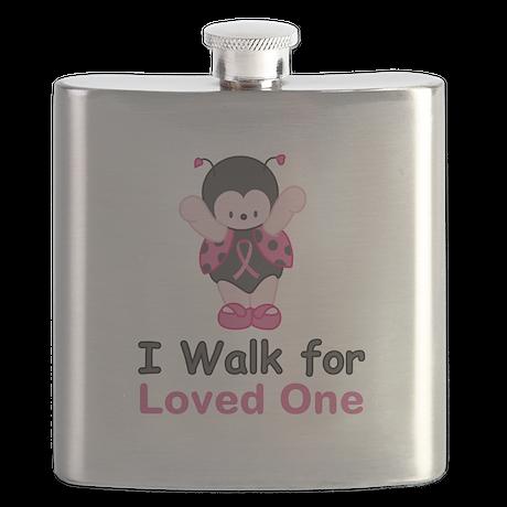 Walk For Ladybug Flask