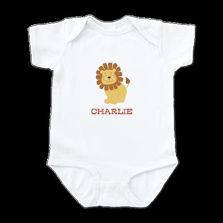 Cute Lion Personalized Infant Bodysuit