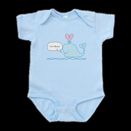 Cute Whale Infant Bodysuit