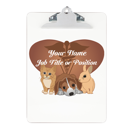 Personalized Veterinary Clipboard