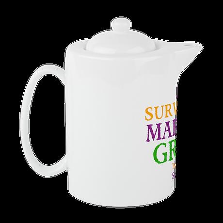 Your Mardis Gras Teapot