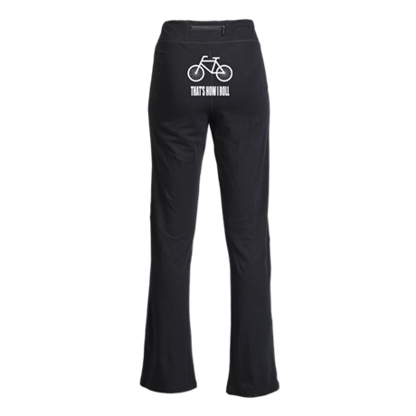 Thats How I Roll Bicycle Yoga Pants