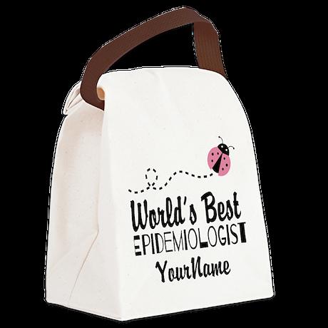 World's Best Epidemiologist Canvas Lunch Bag