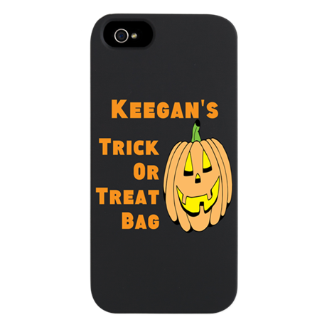 Personalized Trick or Treat bag iPhone 5 Case