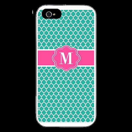Custom Monogram iPhone 5 Case