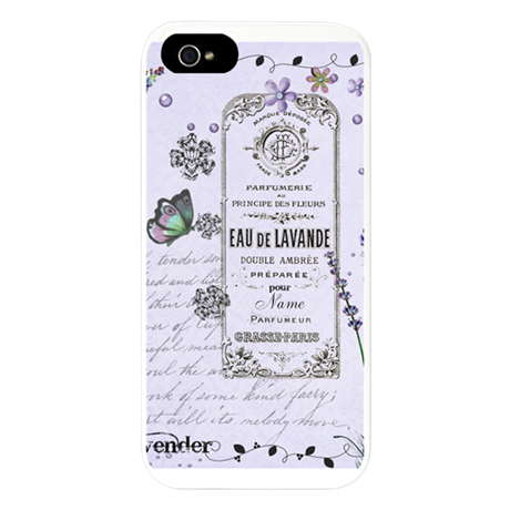 Girly Purple Vintage Collage iPhone 5 Case